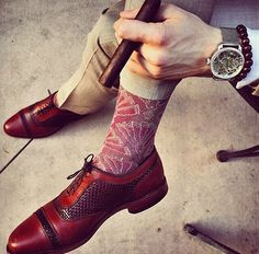 Handmade Men Bespoke Luxury Leather Shoes With Unique Braided Laces Shoes Fashion Socks, Sneakers Fashion, Mens Fashion, Sock Shoes, Shoe Boots, Mens Designer Socks, High Ankle Boots, Suede Leather Shoes, My Socks