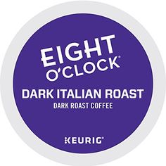 Eight O'Clock Coffee Dark Italian Roast Keurig K-Cups Coffee Pack, 12 Count >>> You can find out more details at the link of the image.