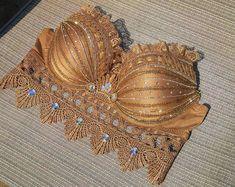 Gold Rave Bra, Golden Goddess Rave Bra, EDC top, dance costume