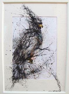 """""""Breaking the Stone"""" by Hua Tunan."""