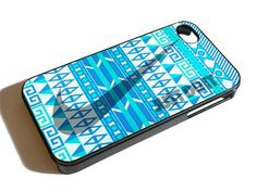 AZTEC NIKE JUST DO IT BLUE MINT for iPhone 4/4s/5/5s/5c, Samsung Galaxy s3/s4 case