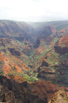 Kauai's Waimea Canyon