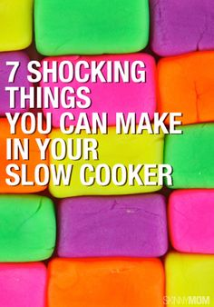 Bet you didn't know you can make THIS in your slow cooker! Check it out!