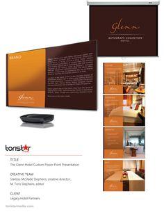 Custom power point presentation