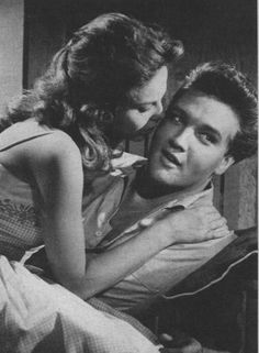 "Anne Helm and Elvis in ""Follow That Dream"" 