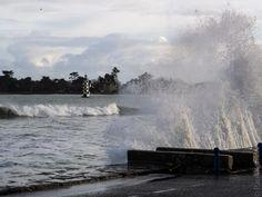 #Bretagne - #Finistere : marée haute à L'Ile-Tudy à 18 H au lendemain de la tempête Ulla (6 photos) © Paul Kerrien - http://toilapol.net #phare #BZH