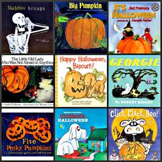 Eleven Halloween Books for Kids