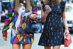 Streetstyle / Milan Fashion Week / ss14 / Dress