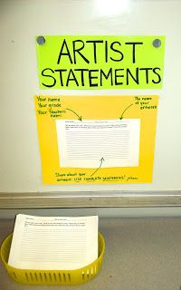 The Awakened Artist: A Choice-Based Art Classroom: Share Station
