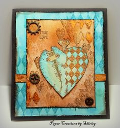 Paper Creations by Shirley: Steampunk Valentines