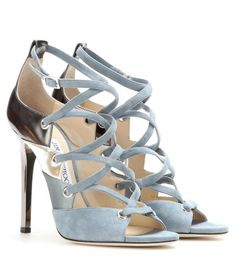 Jimmy Choo - Linger suede and leather sandals - mytheresa.com GmbH