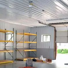 Best Materials For Garage Ceiling Metal Vs 4X8 Panels The 640 x 480