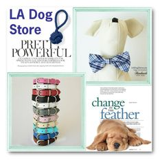 LA Dog Store by ladogstores on Polyvore featuring polyvore, Lands' End, fashion, style and clothing
