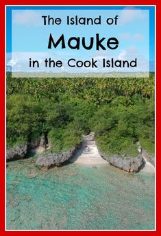 The Island of Mauke was the absolute highlight of our travels in the Cook Islands with kids. The people are incredibly welcoming (all 300 or so of them), and there are lots of natural attractions to see and enjoy.The island of Mauke is perfect for families that like a bit of adventure and exploring! #cookislands #holidayswithkids