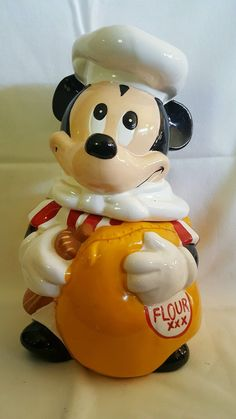 Vintage Mickey Mouse Cookie Jar.