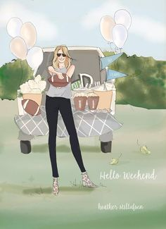 Bon Weekend, Hello Weekend, Female Pictures, Text Pictures, Collage, Cute Illustration, Beautiful Artwork, Art Quotes, Inspirational Quotes