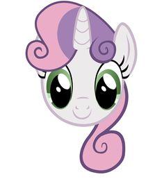MLP - Sweetie Belle Headshot (CMC)
