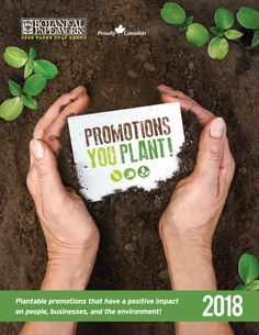 Botanical PaperWorks 2018 Promotional Products Catalog Seed Paper, Green Business, Little Plants, Promotion, Seeds, Eco Friendly, Catalog, Environment, Display Ideas