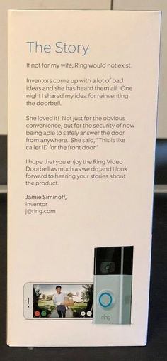 Ring Video Doorbell 2 for sale online