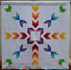 Fire and Ice by Kimberly Einmo - Green Fairy Quilts