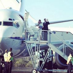 Royal Couple leaving for Sidney..