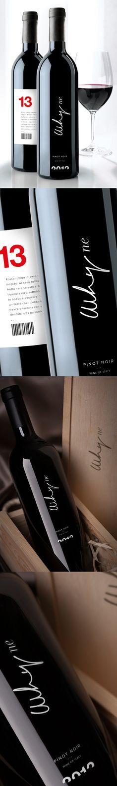 WHYNE wine pinot noir. in Wine package