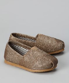 """I guess baby glitter toms are like our generation's """"jellies"""" ... loved my jellies :)"""