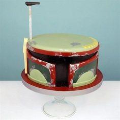Jango Fett cake