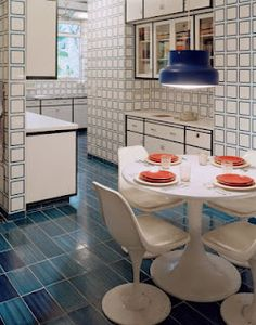 Awesome 60's kitchen