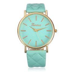Ularmo Uhr Casual Klassisch Damen Armbanduhr Römisch Lederband Analog Quarz Watch(grün) - http://uhr.haus/ularmo/gruen-ularmo-frauen-csasual-genf-fashion-damen