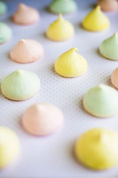 easter meringue kisses