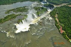 Cataratas do Iguaçu em Foz do Iguaçu, PR