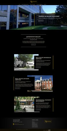New website using the Ubertor CMS. Mobile ready and responsive. Website Designs, Property Management, Custom Design, Real Estate, Real Estates, Site Design, Website Layout, Web Design, Design Websites
