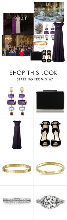 """""""Untitled #852"""" by bellerose-1 ❤ liked on Polyvore featuring ADORNIA, L.K.Bennett, Paul Andrew, Giallo, Miadora and Mark Broumand"""