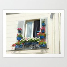 Buy French Window on a Summer Day  by RP Design as a high quality Art Print. Worldwide shipping available at Society6.com. Just one of millions of…