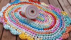 Rainbow Sherbet Rug On A Roll Fabric Collection Staged Pre Cut And Connected