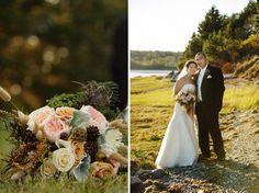 A Rustic Maine Wedding and Lessons in Autumn   Best Wedding Blog - Wedding Fashion & Inspiration   Grey Likes Weddings