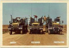 Vietnam convoy Gun trucks