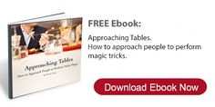 Learn how to approach people to show them magic tricks. This free magicians book will teach you how too...