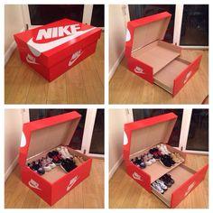 Giant Nike Shoebox
