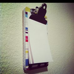 Use one to display your to-do list.