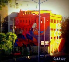21 de mayo de 2014 - Parte III - Graffitti Edificio en el Expreso Luis Muñoz Rivera #1, con la Ave. Manuel Fernández Juncos, Santurce, PR 00907