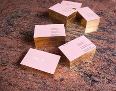 30 Best Rose Gold Business Cards Images Gold Business Card Foil