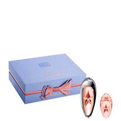 Angel Muse Gift Set - Discover your new addictive fragrance in a limited edition gift set for the Holidays!  Surrender to the magnetic attraction of ANGEL Muse and get ready to lose your mind...   This gift set includes a 1.7 fl oz ANGEL Muse Eau de Parfum Refillable Spray and a 0.2 fl oz ANGEL Muse Eau de Parfum miniature.   Fragrance notes: Grapefruit, Pink Peppercorn, Hazelnut Cream, Vetiver, Patchouli.