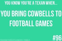 high school football games to be exact. Battle of the Bell! Splendora vs Tarkington. GO WILDCATS!