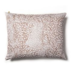 Speckled Taupe-Rose Pillow   Rebecca Atwood Designs