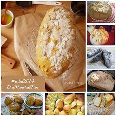 Las mejores recetas de Pan de los bloggers en el Dia Mundial del Pan (#wbd 2014)
