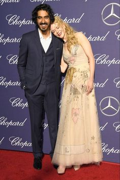 Nicole Kidman cuddles up to Dev Patel as she joins Amy Adams and Ryan Gosling to lead the glam at the Palm Springs International Film Festival Awards Gala