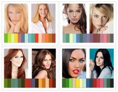 четыре цветотипа фото - Поиск в Google