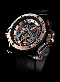 Aquanautic Super King Diving Tourbillon